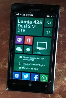 Microsoft Lumia 435 Dual Sim Dtv Preto