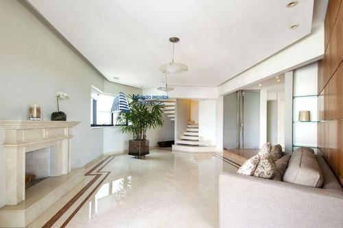 Cobertura Duplex Para Venda Em São Paulo, Jardim Anália Franco, 4 Dormitórios, 4 Suítes, 9 Banheiros, 7 Vagas - 923_1-1420636