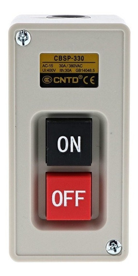 Cbsp-330 Cntd Interruptor Botonera 3polos-30amp