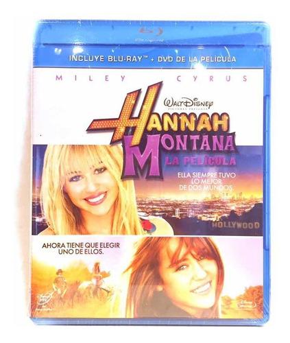 Hannah Montana La Pelicula Disney Bluray Cerrado Original