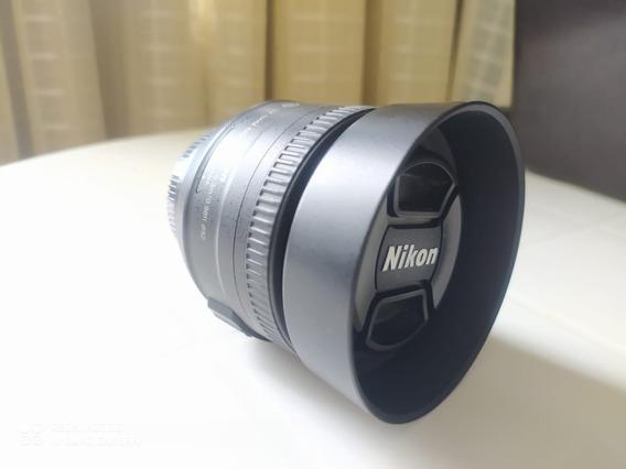 Lente Nikon Af-s Nikkor 35mm F/1.8g Autofoco Seminova