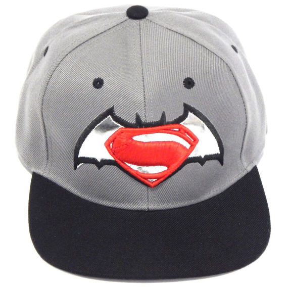 Batman Vs Superman Gorra Bordada Dc Comics Broche Ajustable