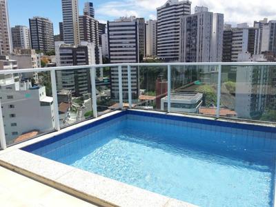 Residencial José Da Silva Azi. Cobertura Com 3/4, Suíte, 186,04m², Varanda, 02 Garagens - Graça - Co0107