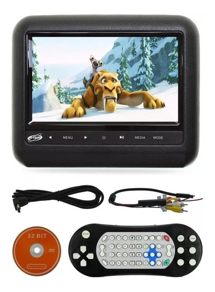 Dvd Automotivo - Monitor De 7