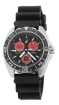 Relógio Nautica N07577g Sport Ring Preto Promoção