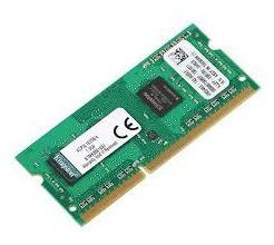 Memoria Ram Notebook 4gb Kingston 1600 Mhz Sodimm, Ddr3l, 1.35 V, Cl11, 204 Pines
