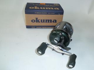 Reel Okuma Chromer Cr 250