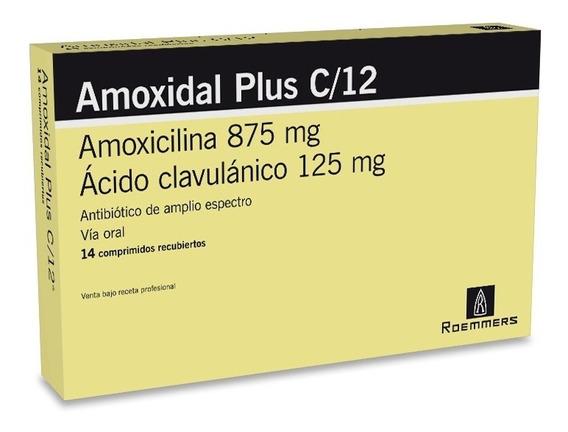 Amoxidal Plus C 12 X 14 Comprimidos
