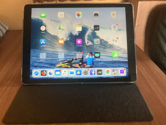 Apple iPad Pro 12.9 128gb Wifi + 4g Com Capa E Protetor Tela