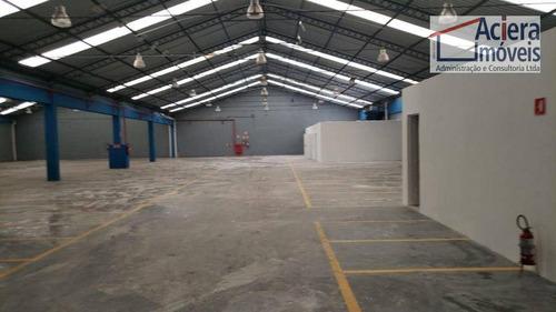 Imagem 1 de 12 de Galpão Para Alugar, 1543 M² Por R$ 42.000,00/mês - Vila Leopoldina - São Paulo/sp - Ga0641