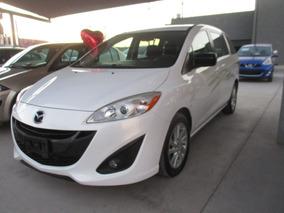 Mazda 5 Touring, Aut, 4 Cil, A/c, Color Blanco, Modelo 2012