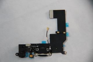 Flex Centro De Carga Original + Jack iPhone 5s,5c
