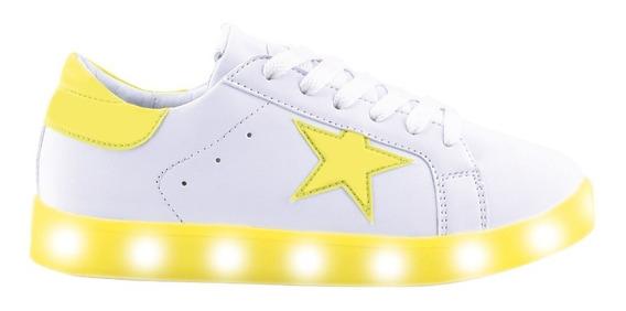 Zapatillas Footy Estrella Fluo- Footy Oficial