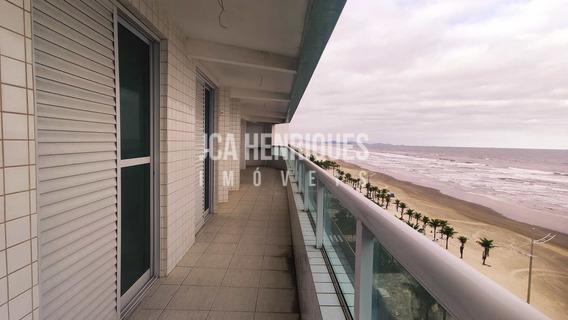 Apartamento De Frente Para O Mar Com 3 Suítes - V930