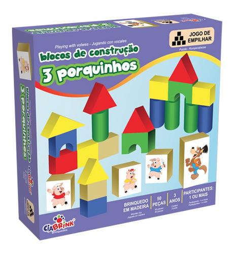 Bloques De Construcción Juego Los Tres 3 Chanchitos