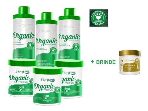 Imagem 1 de 3 de Shampoo Antirresíduo 1l + Bott Ox 1kg  -03 Unidades + Brinde