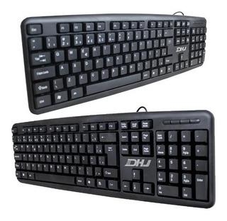 Teclado Com Fio Usb 2.0 Keybord Haiz 530 Escritorio Pc