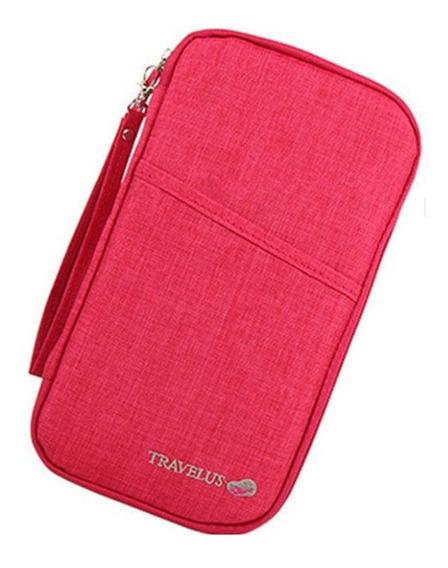 Porta Pasaporte Documentos Travellus Premium