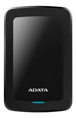 Imagen 1 de 3 de Disco duro externo Adata AHV300-4TU31 4TB negro
