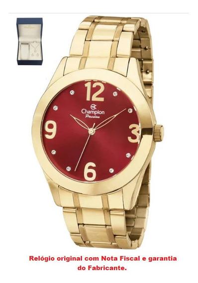 Relógio De Pulso Feminino Champion Ch24268c
