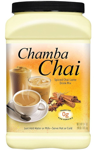 Chamba Chai Te Latte Rinde  Bebid - Unidad a $83900