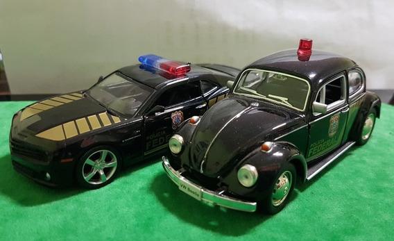 Conjunto De Miniaturas Da Policia Federal