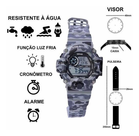 1 Kit Com 2 Relógios A Prova Dágua Acompanha Certificado