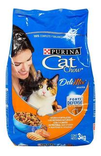 Alimento Para Gato Adulto Cat Chow 3 Kilos