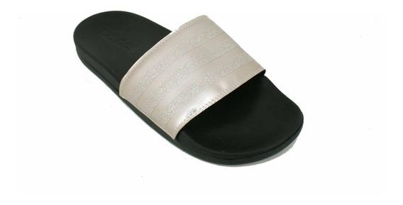 Zapatilla adidas Adilette Confort Bronce Dama Deporfan