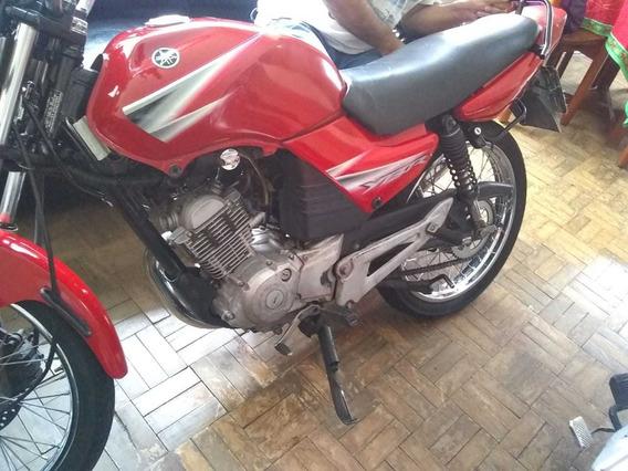 Yamaha Ybr 125 Ed Vermelha ,50.000km