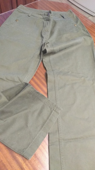 Pantalon Mazalosa Verde Militar Tm /l
