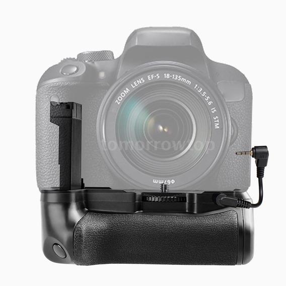 Grip Para Canon T7i Ou 77d Dslr Fotografia Canon