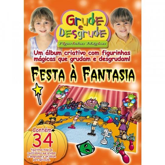 Álbum Grude E Desgrude - Festa A Fantasia- Figurinhas Grande