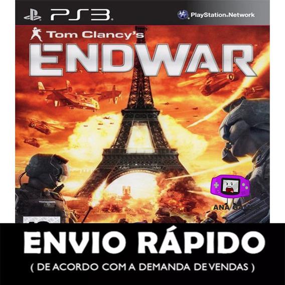 Tom Clancys Endwar Ps3 -jogo Digital