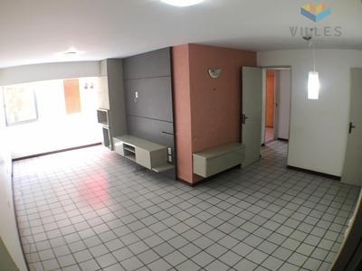 Apartamento Com 3 Dormitórios + Uma Suíte À Venda, 108 M² Por R$ 379.900 - Ponta Verde - Maceió/al - Ap0454