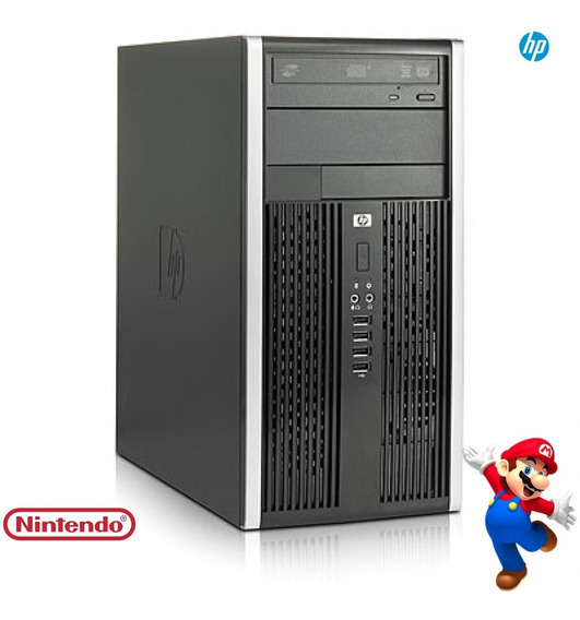 Desktop Hp 6005 Ddr3 2gb 80gb Amd 3.0 Ghz Seminovo!