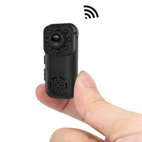 Mini Cmara Porttil Wi-fi De 1080p Hd - Negro