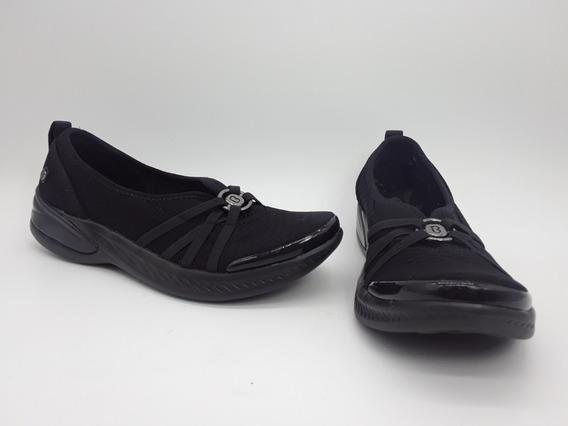 Bzees Niche Premium Zapato Casual Comfort Negro Talla 23 Mex