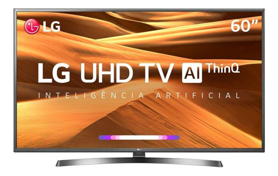 Smart Tv 60 Lg 60um7270psa Uhd 4k Inteligência Artificial