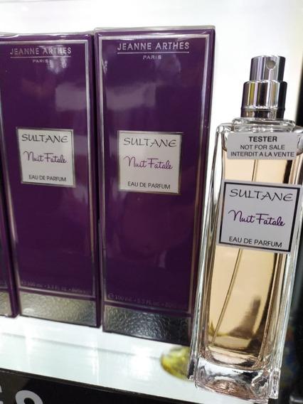 Perfume Jeanne Arthes Sultane Nuit Fatale Edp 100ml/original