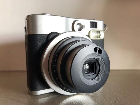 Câmera Instax Mini 90 Fuji + 02 Filmes Pb Fujifilm