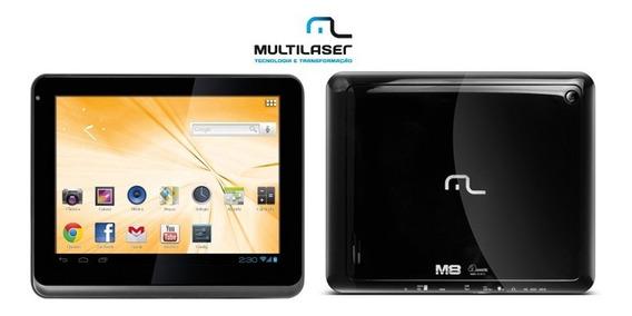 Tablet Multilaser M8 Nb060 Dual Core Tela 8 Hdmi 1gb 4gb Preto