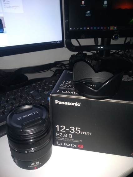 Panasonic Lumix G X Vario 12-35mm F/2.8 Ii Asph. Power O.i.s