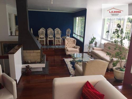 Casa Com 4 Dormitórios À Venda, 200 M² Por R$ 1.180.000,00 - Parque Continental - São Paulo/sp - Ca0239