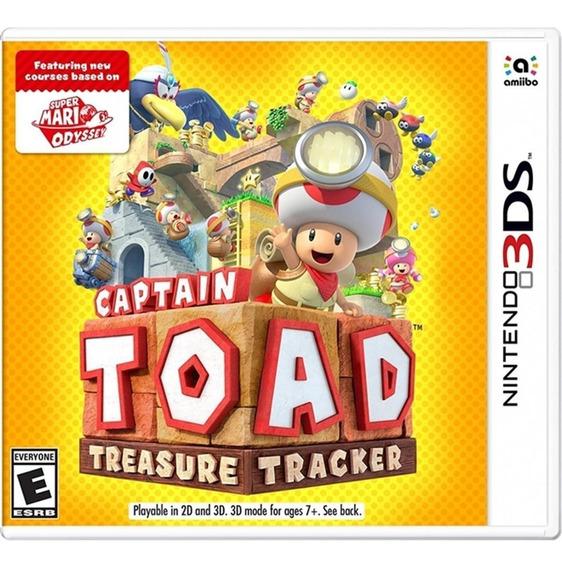 Captain Toad: Treasure Tracker - 3ds Lacrado