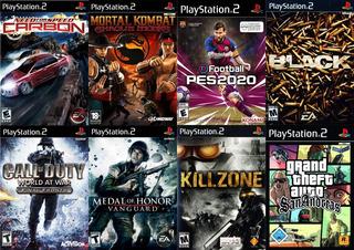 Combo # 7 De Juegos Para Playstation 2 Por Usb Xplaygiro
