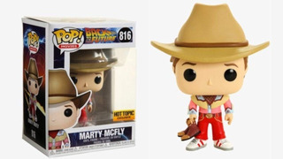 Funko Pop 816 Back To The Future - Marty Mcfly (cowboy)