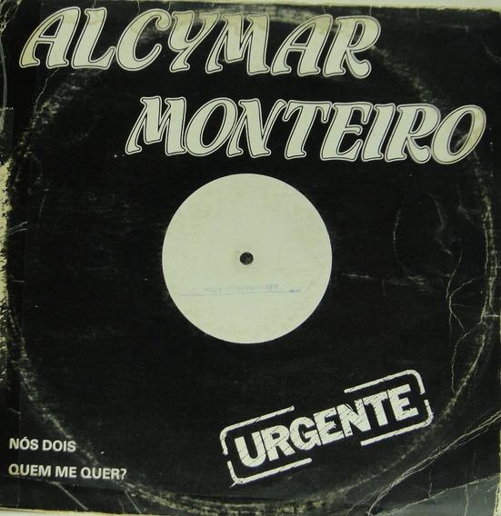 Lp Alcymar Monteiro - Disco Promocional - 1988 - A108