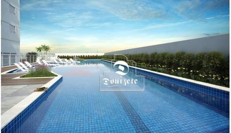 Apartamento Com 3 Dormitórios À Venda, 100 M² Por R$ 599.000,00 - Campestre - Santo André/sp - Ap5402