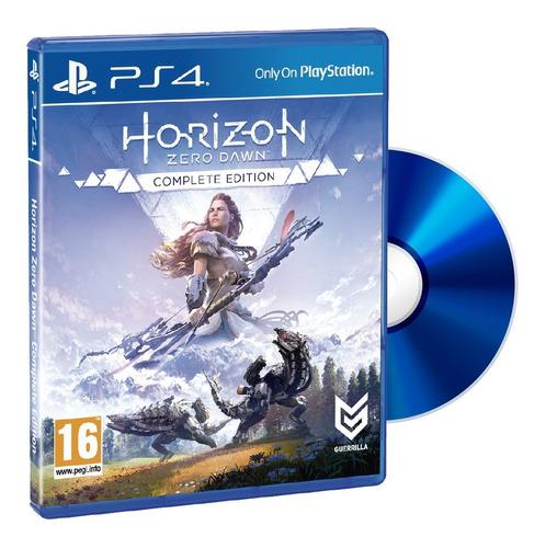 Juego Ps4 Fisico Horizon Zero Dawn Complete Ed Nuevo Sellad
